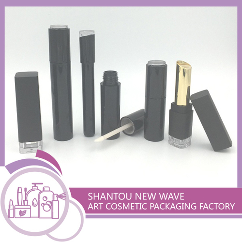 Plastic Packaging of Cosmetic Sectors Empty Lip Gl