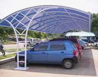 Car Parking Shed Fabrication