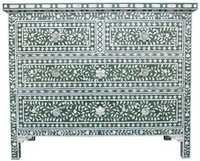 Mother of Pearl Chest of Drawer