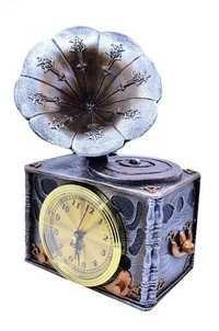 Decorative Gramophone Clock