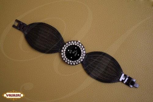 White Stones Belt Watch