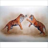Animals Paper Painting