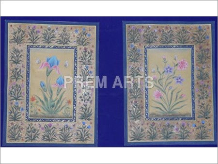 Flower Paper Painting