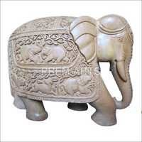 Wood Craft - Elephant Statue