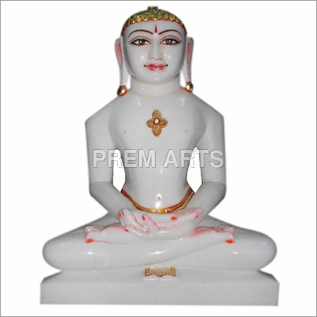 Marble Statue of Jain Tirthankara