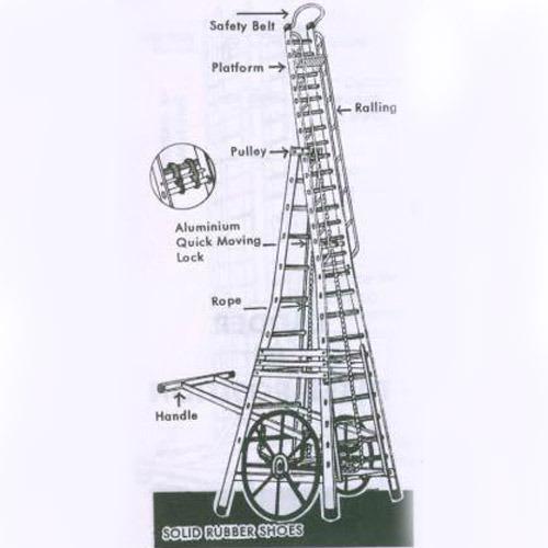 SKY LIGHT ROAD STAR TOWER LADDER