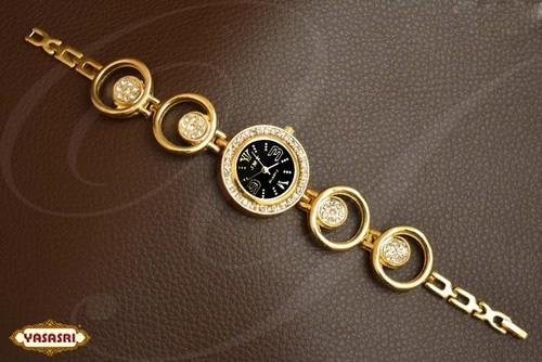 Gold Plted Ladies Watch