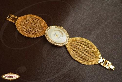 Gold Belt Watch