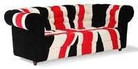Union Jack Fabric Sofa