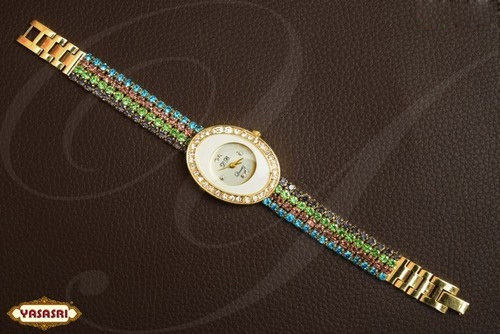 Multy Stone Ladies Watch