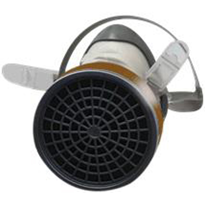 3M 1200 SINGLE CATRIDGE HALF FACEPIECE RESPIRATOR
