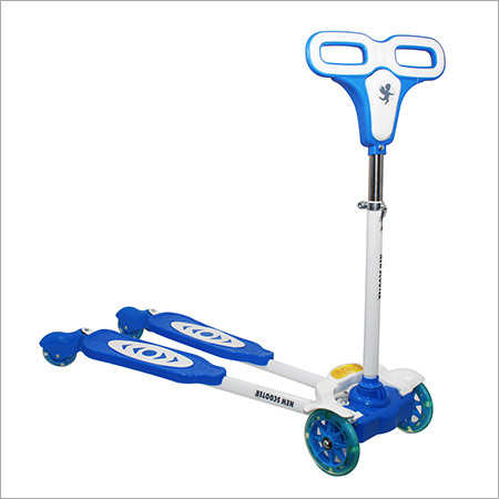 Blue Four Wheel Frog Scooter