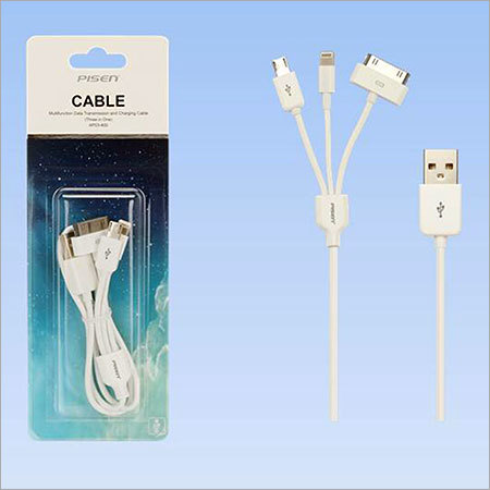 3 in 1 Mobile Charging Cable