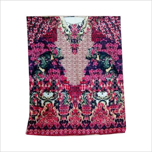 Cotton printed kaftan