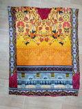 Printed kaftan