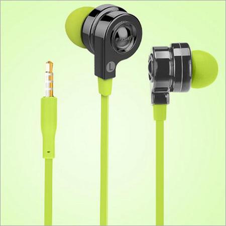 Green In Ear Earphone