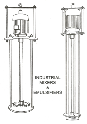 Stirrers, Mixers, Agitators and Emulsifiers