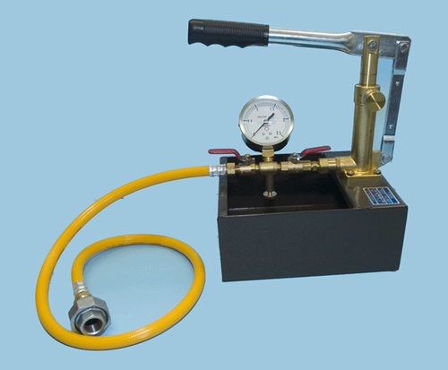 HYDRAULIC PRESSURE TEST - PUMP