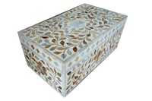 MOP Floral Design Storage Box