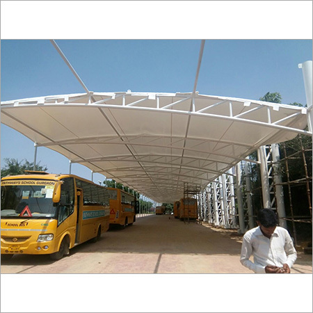 Bus Parking Tensile Structure