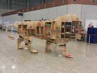 MAKE IN INDIA WOODEN LION-02