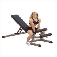 BODY-SOLID HEAVY DUTY FLAT INCLINE DECLINE BENCH