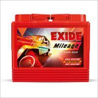 Large Exide Batteries