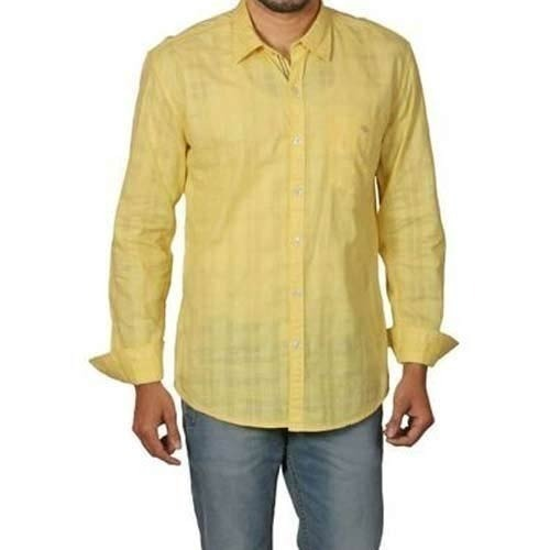 Colored Mens Cotton Shirts