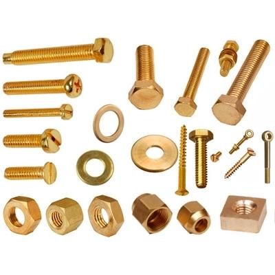 Brass Precision Fasteners