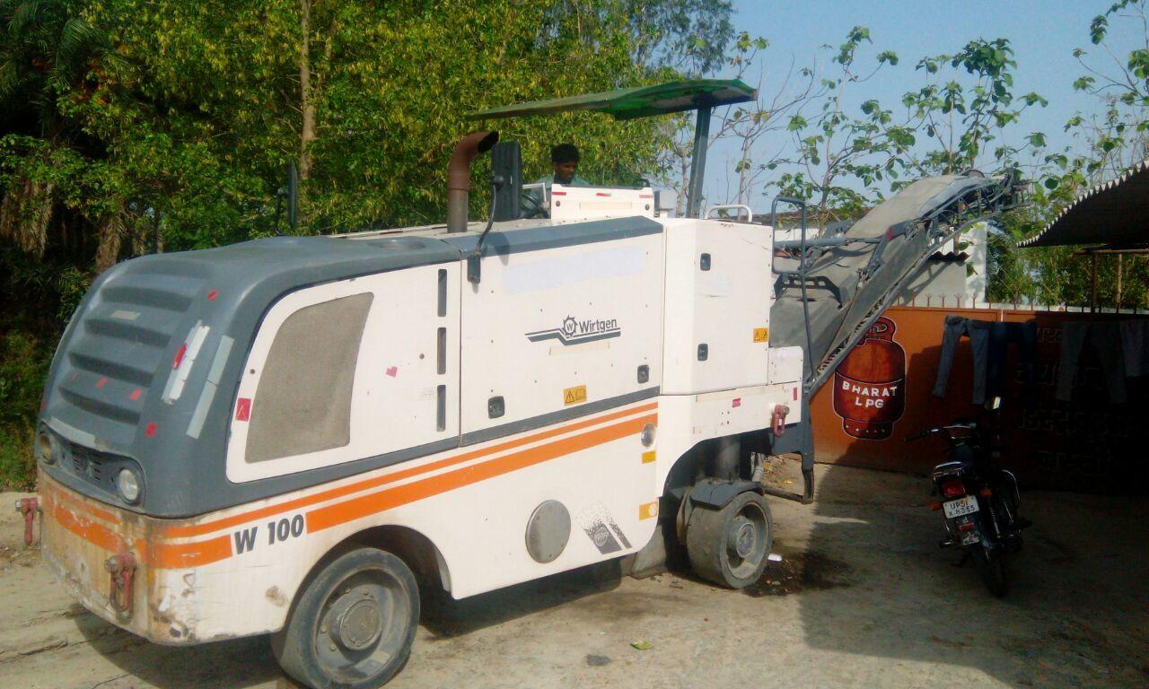 W 100 wirtgen milling machine For Rent