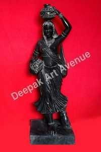 Black Marble Bani Thani Statue