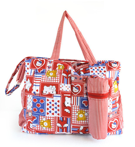 Duck New Baby Mother Bag (Red)