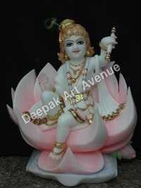 Marble Bal Krishan Statue