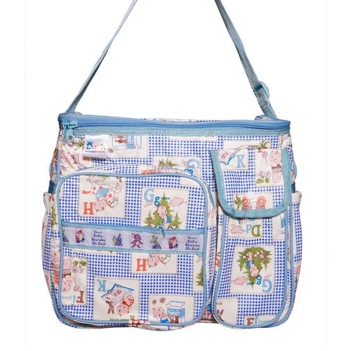 Mother Bag PVC 1 Blue