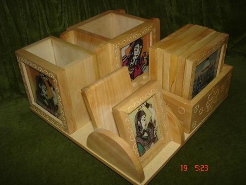 Wooden Office Set
