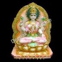 Marble Laxmi Ma Statue