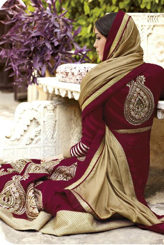 Stylish Ladies Pashmina Suit