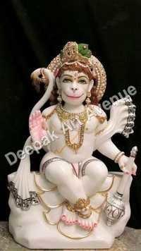 Marble Maruti Statue