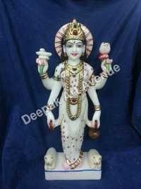 Marble Ganga Statue