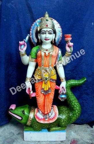 Marble Ganga Ma Moorti
