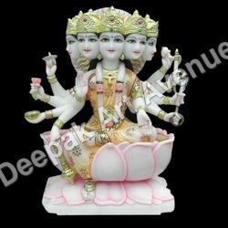 Marble Gaytri Ma Statue