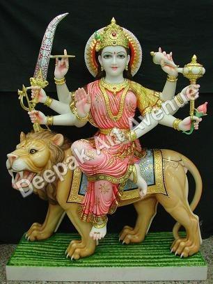 Marble Durga Ma Statues