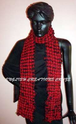 Wool Melange Heavy Quality Stripes Scarves