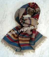 Wool/Cotton/Acrylic heavy/raising Scarves