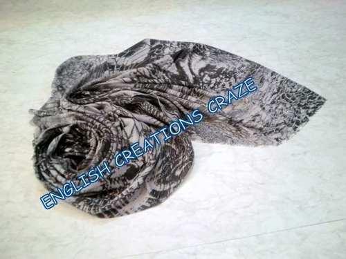 Wool Modal Silk  scarves