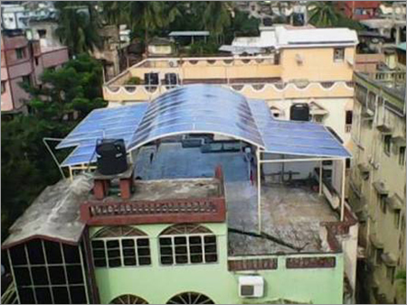 Polycarbonate Rooftop Shade