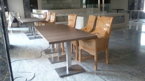 Stainless Steel Wooden Tables