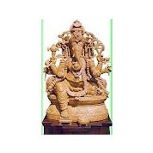 Wooden Ganesha Idols