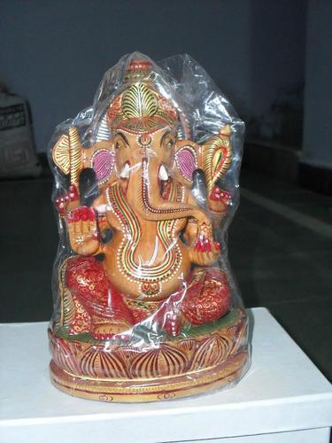 Designer Wooden Ganesh Statue