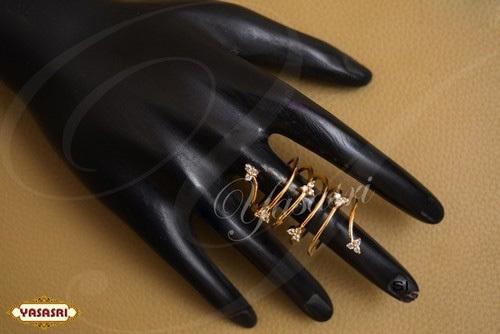 Slim Fit Women Finger Ring
